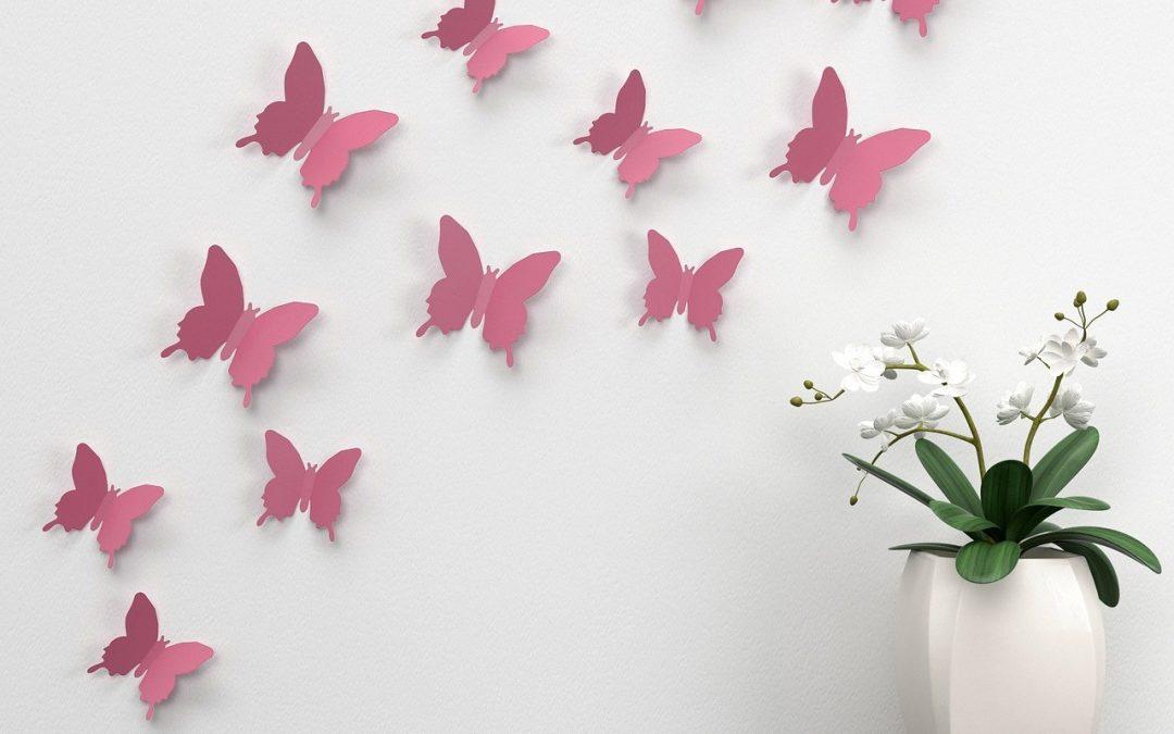 Dekorera väggen skonsamt