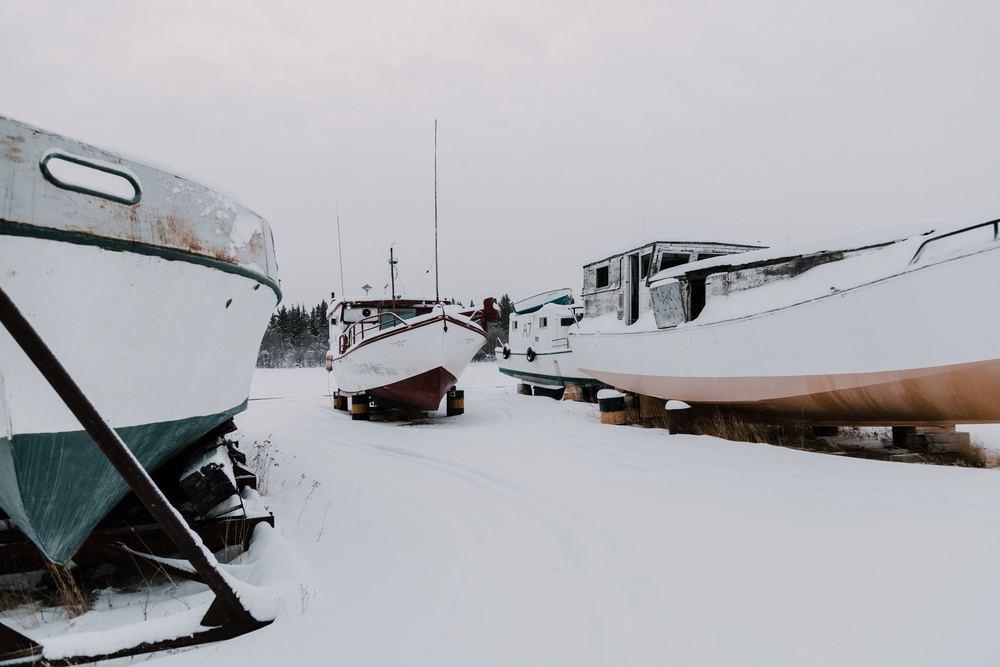 Vinterförvara din båt